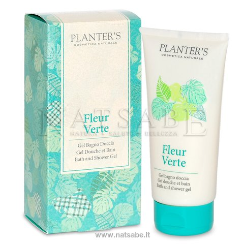 Planter S Bath And Shower Gel Fleur Verte 150 Ml Bath Foam And
